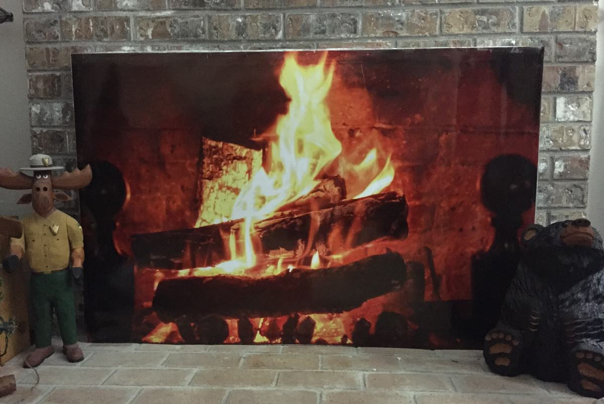 Artificial Fire Fireplace Fireplaces