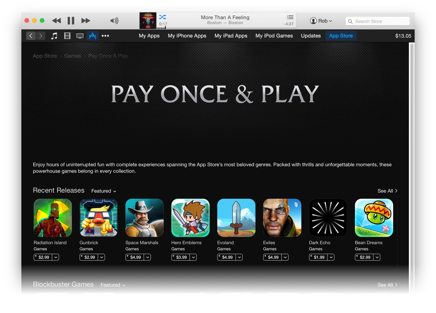 The iOS App Store's paid apps lottery game | The Robservatory