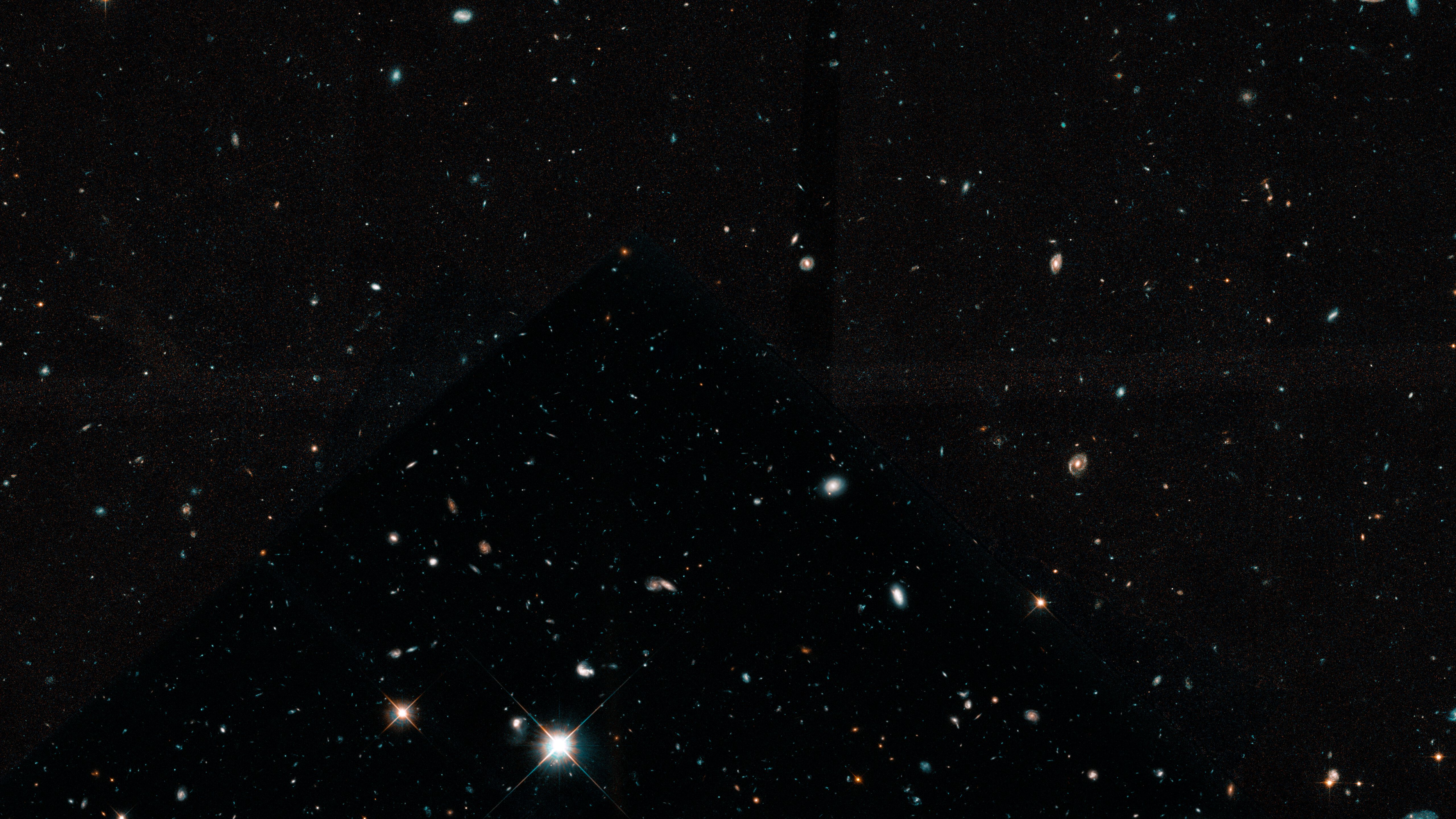 hubble ultra deep field youtube - HD5120×2880