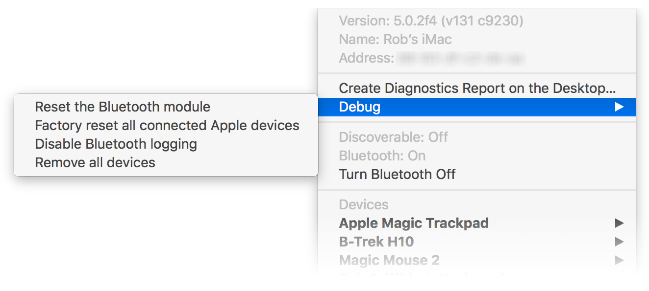 Debugging Bluetooth issues in macOS Sierra | The Robservatory