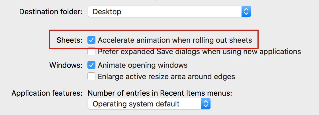 Speed up your Mac via hidden prefs